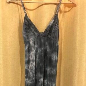 Billabong Black/Navy Tie-Dye Summer Dress